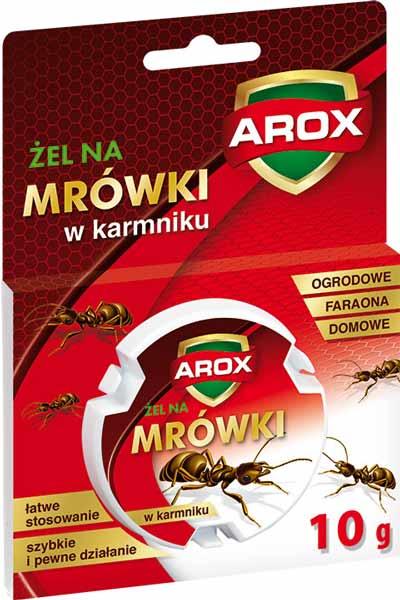 żel na mrówki, karmnik na mrówki