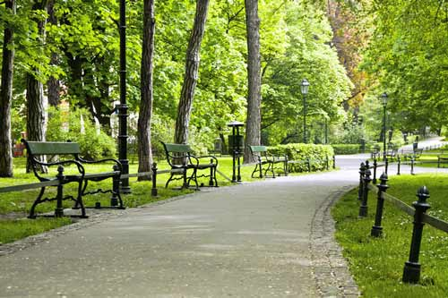 Parki w Polsce, najciekawsze parki miejskie