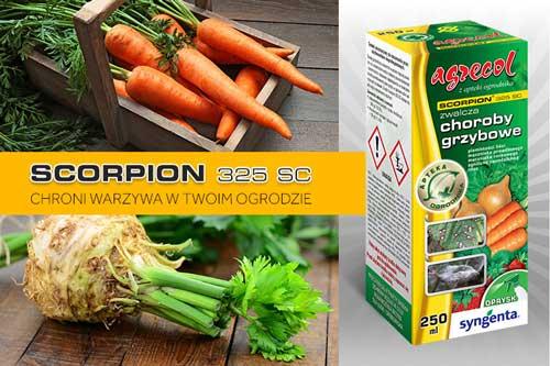 scorpion ochroni twoje warzywa