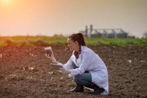 wapnowanie, test gleby, badanie odczynu, zakwaszenie